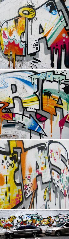 Caracas Graffiti | VISIT FULL POST: http://caracasshots.blogspot.com/2012/11/puzzle-city-caracas-graffiti.html #Caracas #Photography #StreetArt