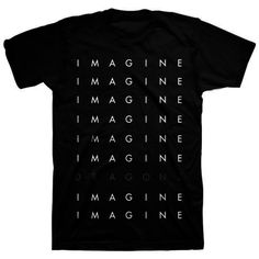 Imagine+Dragons+-+Logo+Repeat+T-Shirt