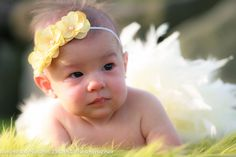 3 Flower Ivory Headband with Pearl Center by DarlingDelilah777, $5.50