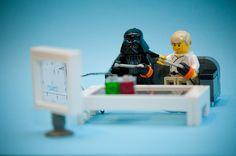 LEGO funny and LEGO Star Wars