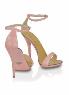 Light Pink Strappy Heels | Fs Heel