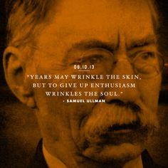 Wisdom of Samuel Ullman