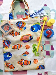 Fish party bag handmade (contents sold separately) £1.85 each