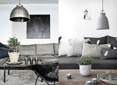 #grey #livingroom #industrial