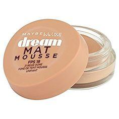 fe3be32b7db7 Gemey-Maybelline - Dream Mat Mousse - Fond de teint mousse - 21 beige doré   Amazon.fr  Beauté et Parfum