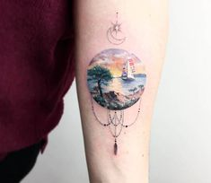 Nature tattoo by Eva Krbdk