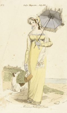 Fashion Plate (Morning Walking Dress) | LACMA Collections 1813