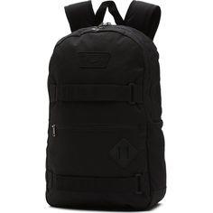 6d11d5648a Vans Authentic III Ska Backpack Black