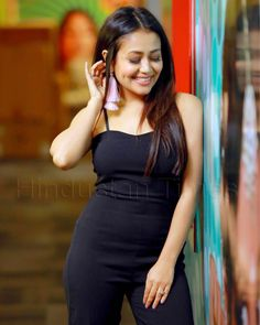 Singer Neha Kakkar Photos - Neha Kakkar is one of the most versatile singer in the bollywood. She is known for her funky songs . Check out beautiful Neha Kakkar Photos . Indian Bollywood Actress, Beautiful Bollywood Actress, Most Beautiful Indian Actress, Bollywood Fashion, Indian Actresses, Neha Kakkar Dresses, Indian Wedding Gowns, Stylish Girls Photos, Crop Top Outfits