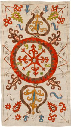 Antique Kaitag Embroidery #45209 Main Image - By Nazmiyal