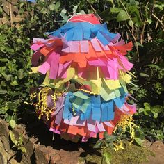 Activity and images provided by WAHACA AT HOME Make your own Piñata Looking for the perfect way to stop your kids smashing up the house? Here's our step by step guide to making your own Piñata. STEP 1: Assemble your equipment You'll need flour water newspaper balloons string scissors glue paint tissue paper and lots of …