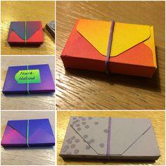 Papieren doosjes