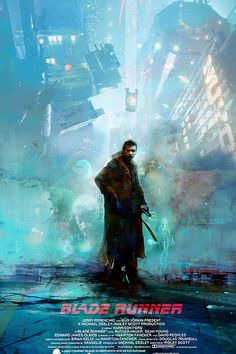 Blade Runner by Christopher Shy - Home of the Alternative Movie Poster -AMP- Beauty Black Pins Blade Runner Poster, Blade Runner Art, Blade Runner 2049, Cyberpunk Aesthetic, Arte Cyberpunk, Indie Movies, Sci Fi Movies, Cult Movies, Action Movies