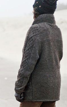 Darrowby cardigan: Knittyspin Winter 2012