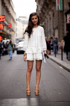 FASHION BLOGGER & IT GIRL - TREND ESTATE 2013 TOTAL WHITE OUTFIT