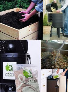 Compost for healthier gardens and homes!