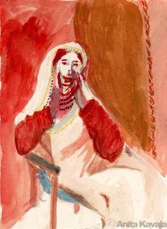 Study of Motra Tona -Anita Kavaja