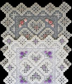 Alternatives in Hardanger Embroidery                                                                                                                                                                                 More