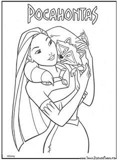 walt Disney : Pocahontas