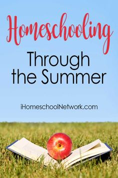 One main benefit of homeschooling all year is that you start and finish your curriculum when you're ready. There's no need to complete everything between the months of August and May. | Homeschooling Through the Summer #summer #homeschooling