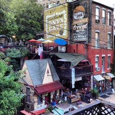 Downtown Eureka Springs Arkansas Vacation Places To Travel