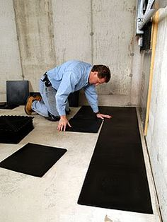 subfloor for basement concrete floor | Basement Subfloors – All you need to know | Total Basement Finishing