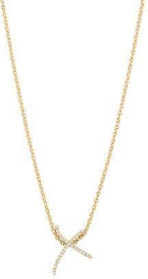 Daou Jewellery Kiss Diamond Pave Pendant O3D0W
