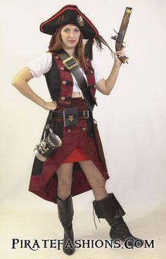 How to Dress Like a Female Pirate – Pirate Fashions
