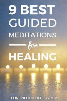 Would you like to see the best free guided meditations for healing? Find out…