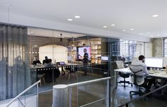 : TH_NK asked Newcastle-based Ward Robinson to design and project manage the redesign and fit-out of their London office having previously.