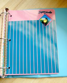 Super Shades notebook
