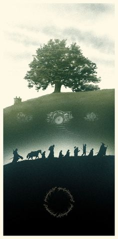 The Fellowship of the Ring by Marko Manev #illustration