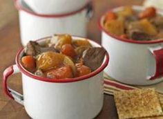 Easy Crockpot Beef Stew - I added a couple of cans of golden mushroom soup to this recipe.  I thought it added to the flavor and thickened it up.