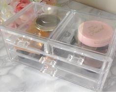 Acrylic Makeup Drawer Storage