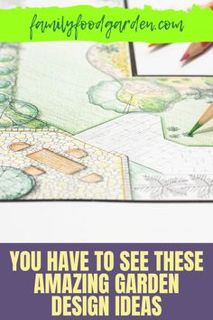 """Creating a garden takes some thought, planning and time. Family Food & Garden has compiled a comprehensive guide that offers dream garden design ideas on a budget that you have to see. With many options to sketch your beautiful garden, our guide gives you some unique ideas that are not the standard """"plant now bloom later"""" type of garden. Some of these ideas will require a 1-5 year plan and we take you step-by-step. Learn more to upgrade your garden…#gardendesign #gardenplans #gardenideas"""