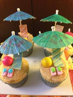 Beach Cupcakes - one of my favs