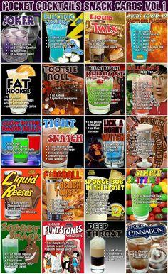 Liquor Drinks, Cocktail Drinks, Cocktail Recipes, Alcoholic Drinks, Disney Cocktails, Fun Cocktails, Mixed Drinks Alcohol, Alcohol Drink Recipes, Alcohol Jello Shots