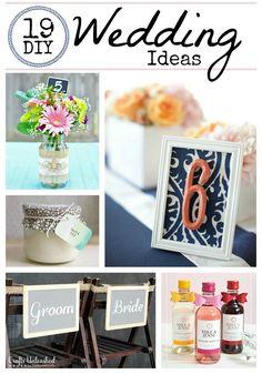 DIY Wedding Ideas: 19 Wedding Crafts - Crafts Unleashed