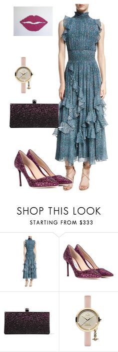 """""""dress"""" by masayuki4499 ❤ liked on Polyvore featuring Rebecca Taylor, Jimmy Choo and Vivienne Westwood"""