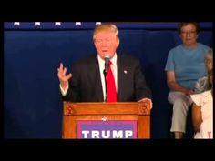 Donald Trump Gives Out Lindsey Graham's Phone Number at South Carolina R...
