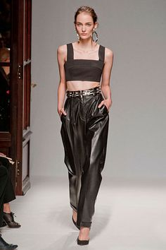 The Spring 2013 Runway Report - Leather Up - Balmain