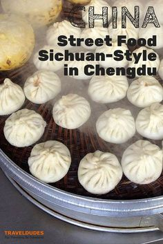 Street Food: Sichuan-Style in Chengdu, China | With fruit stalls, butcher stations, noodle vendors and candy makers, market streets have just about anything and everthing to satisfy one's appetite. The variety is endless and the high-quality is pleasing | Traveldudes Social Travel Blog & Community:
