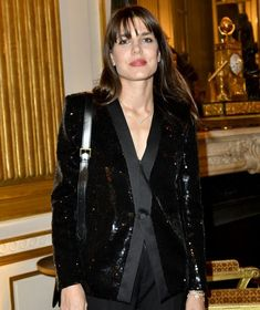 Charlotte Casiraghi and Dimitri Rassam attended ANDAM's anniversary dinner Princess Stephanie, Princess Estelle, Princess Charlene, Princess Madeleine, Crown Princess Victoria, Saint Laurent Paris, Grace Kelly, Fashion Competition, Anniversary Dinner