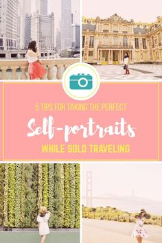 Easy tips for taking the perfect travel photos of yourself while solo traveling