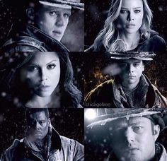 Lt. Casey, Shay, Dawson, Mills, Chief Boden and Lt. Severide | Chicago Fire