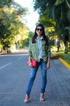 How to look great with a denim over denim look