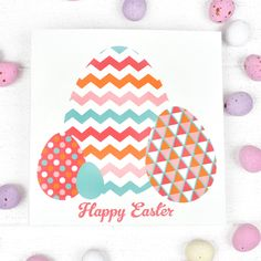 Free downloadable Easter Gift Cards from Inky Co.