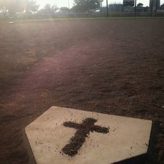 I took this photo myself. this is to express my love of softball and my savior Jesus Christ #softball #God
