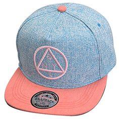 #THENICE #Damen #Hip-Hop #Dreieck #Muster #Cap #Baseball #Hut #(blau) THENICE…