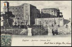 Cagliari, bastione Saint Remy: palazzo Boyl